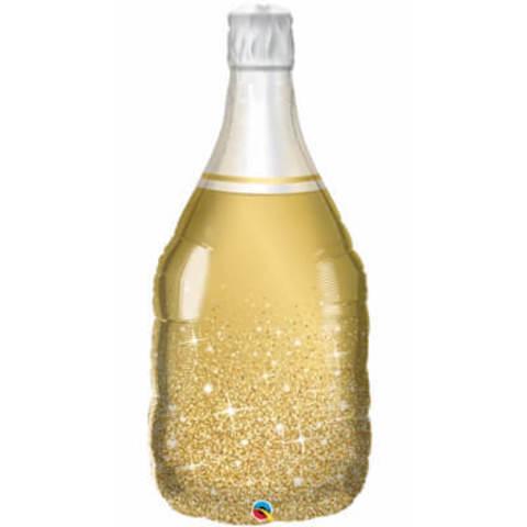 Фигура фольга Бутылка шампанского