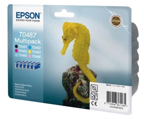 Оригинальный картридж Epson C13T04874010 комплект