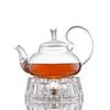 Заварочный чайник 600 мл с подставкой для подогрева