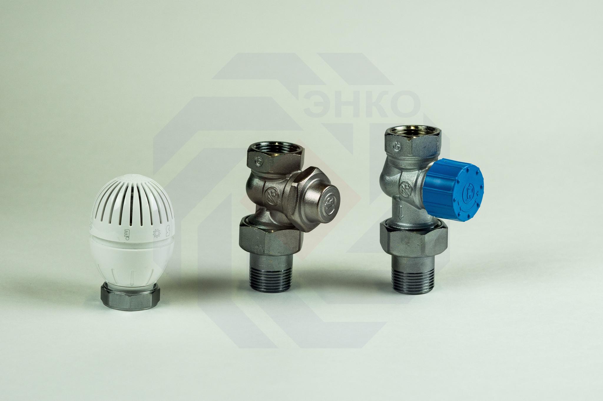 Комплект термостатической регулировки радиаторный GIACOMINI R470F-KV прямой ¾