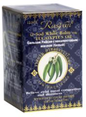Бальзам с эвкалиптовым маслом белый O-SOD White Balm with eucalyptus oil, ТМ RAYSAN