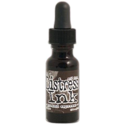Чернила для заправки  Distress Ink Ranger - ground espresso