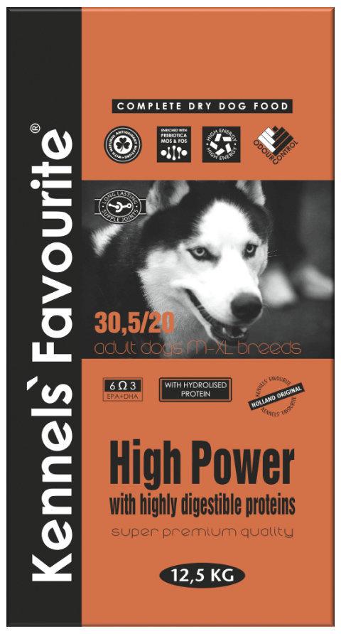 Сухой корм Корм для активных собак Kennels` Favourite High Power 21.970.jpg