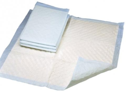 Пеленки впитывающие с фиксирующими полосками VitaVet 60*90 см
