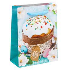 Пакет ламинированный вертикальный «Счастливой Пасхи!», 11х14х5,5 см
