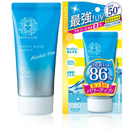 Isehan Sunkiller Perfect Water Essence солнцезащитная эссенция SPF50+ 50мл