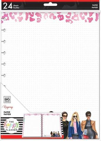 Дополнительный блок  для ежедневника Happy PlannerBIG Filler Paper - Rongrong - Slay Today - 24 л