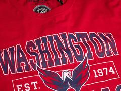 Футболка Вашингтон est. винтаж, красн.,(ТМ ATRIBUTIKA&CLUB)