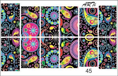Слайдер наклейки Arty for you №45 купить за 80руб
