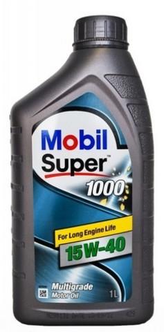 152059 MOBIL SUPER 1000 X1 15W-40 моторное минеральное масло (1 Литр) купить на сайте официального дилера Ht-oil.ru