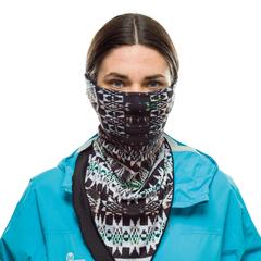 Бандана-шарф флисовая Buff Bandana Polar Kilims Multi - 2
