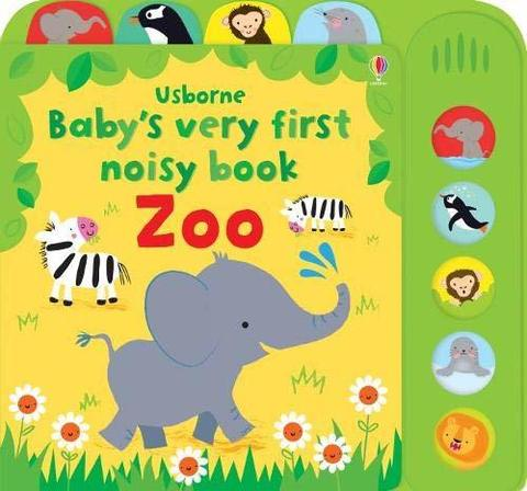 Baby's Very First Noisy Book Zoo