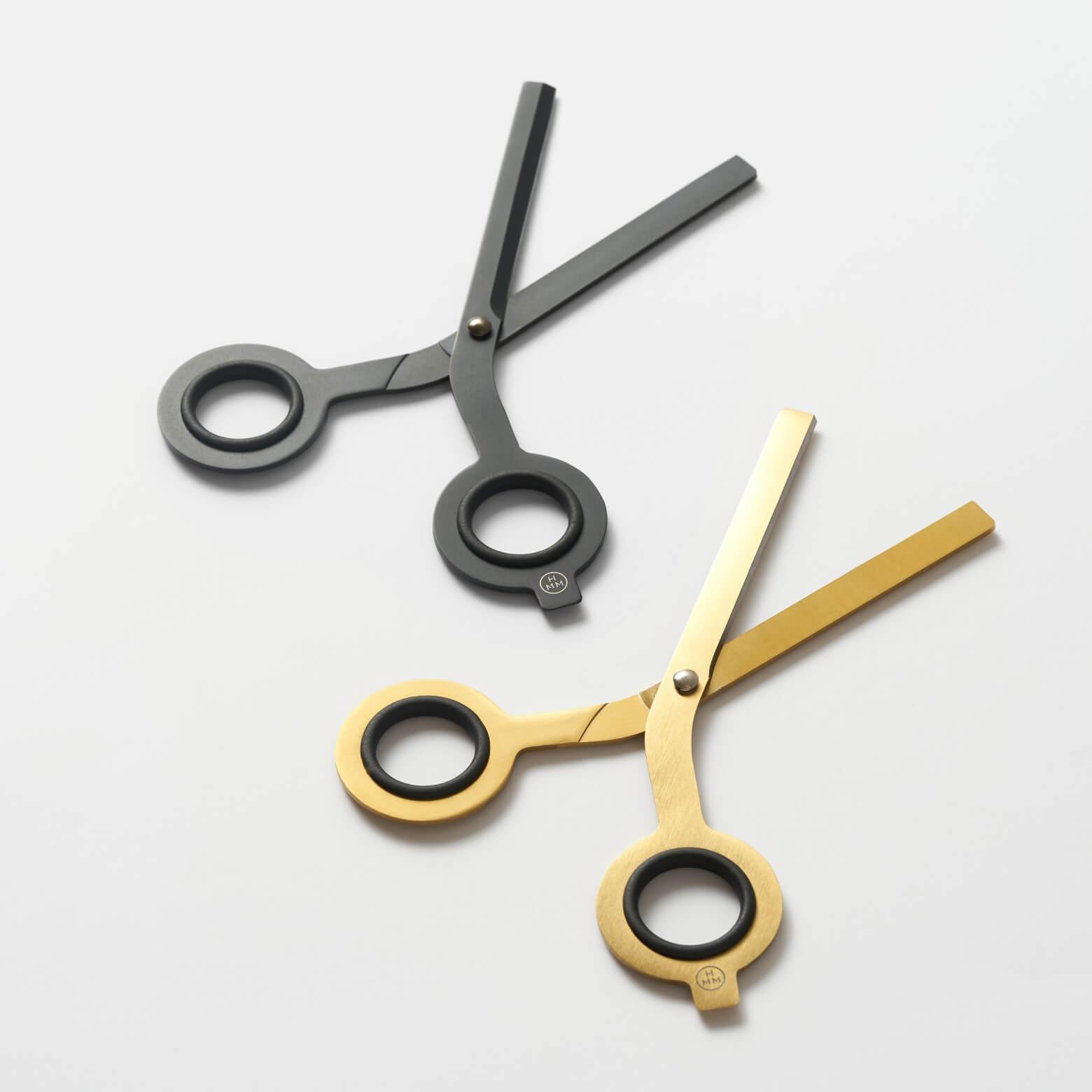 Scissors Black — ножницы с подставкой
