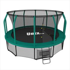 Батут Unix 14 ft SUPREME (Green) - 4,27 м