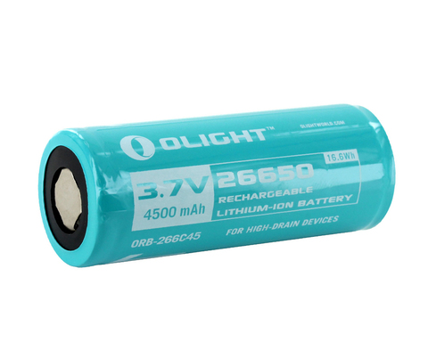 Аккумулятор Li-ion Olight ORB-266C45 26650 3,7 В 4500 mAh