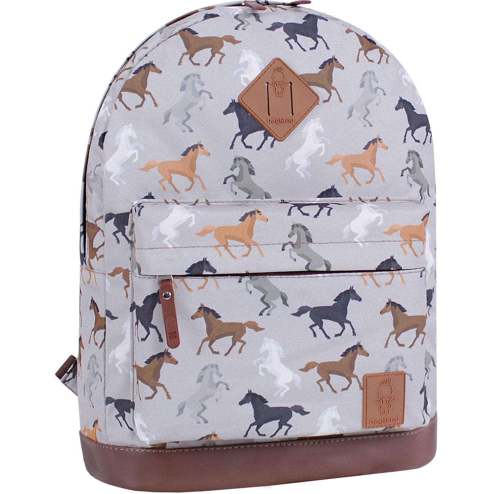 Городские рюкзаки Рюкзак Bagland Молодежный 17 л. сублимация (лошади) (005336640) IMG_4439_суб.85_.JPG
