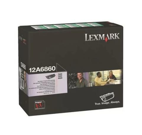 Оригинальный картридж Lexmark 12A6860 черный