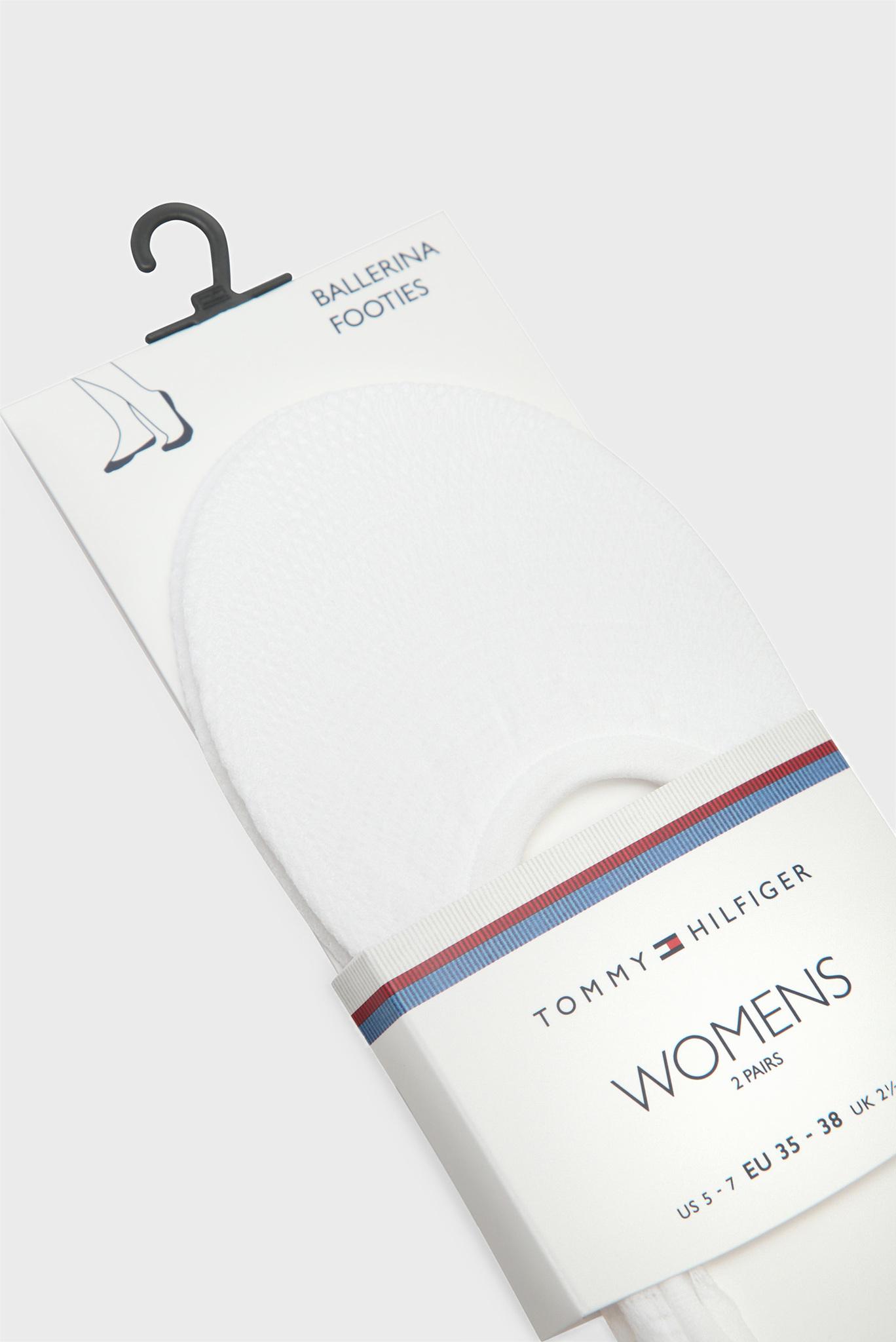 Женские белые следы (2 пары) Tommy Hilfiger