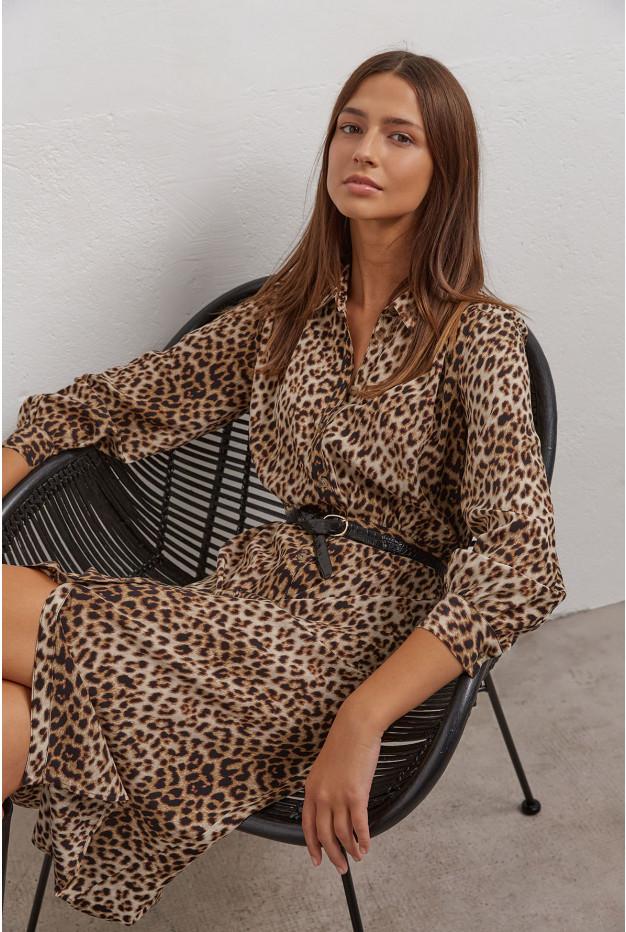 Tullia - Шелковое платье-рубашка