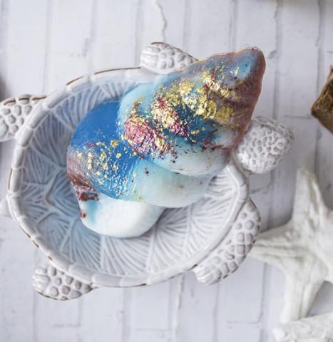 Пластиковая форма для шоколада дет. РАКУШКА ВОРОНКА 60х105мм