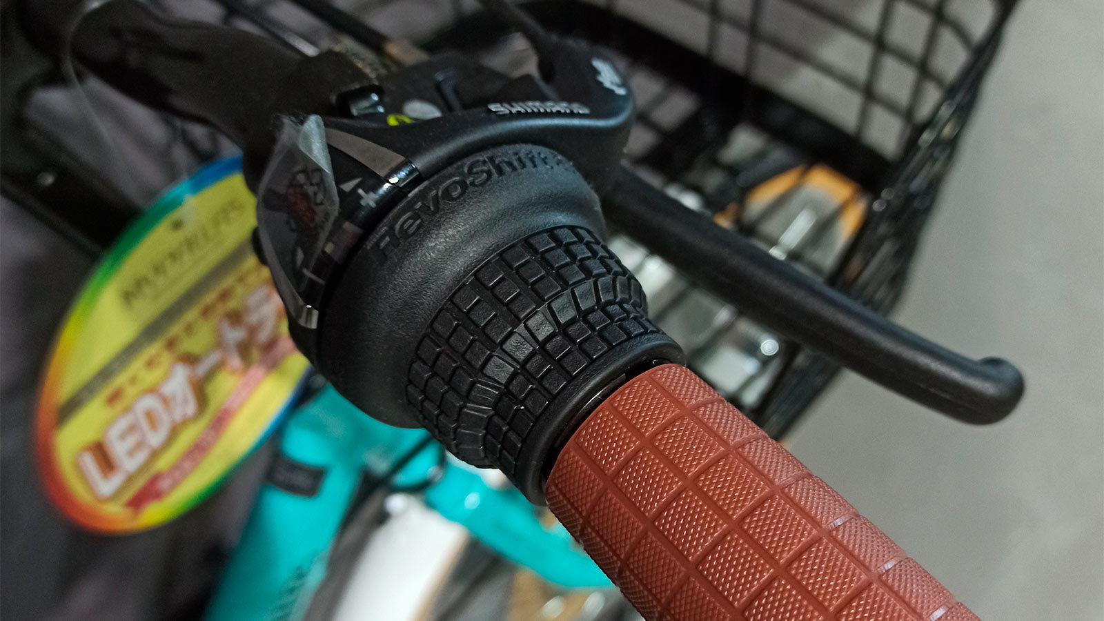 ручка руля и тормоз складного велосипеда