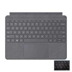 Клавиатура Microsoft Surface Go 2 Signature (Platinum) РУС «платина» чехол-алькантра
