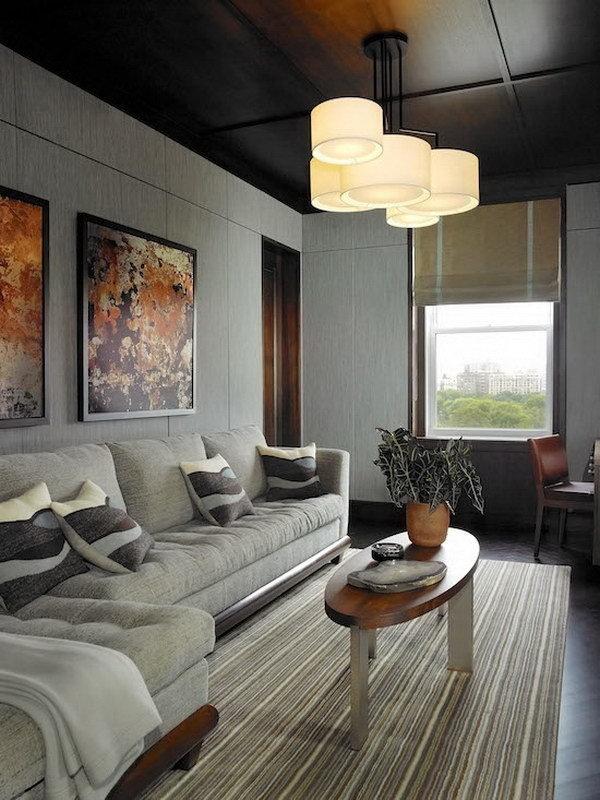 Потолочный светильник копия Noon 5 by Zeitraum (серый)