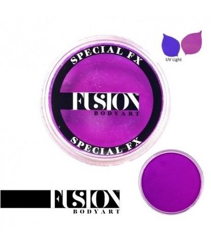 Аквагрим Fusion неоновый фиолетовый 32 гр