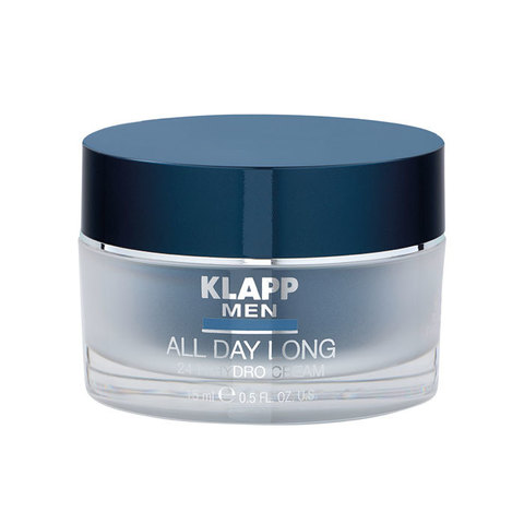 Гидрокрем 24 часа KLAPP MEN All Day Long Hydro Cream 24h 50 мл.