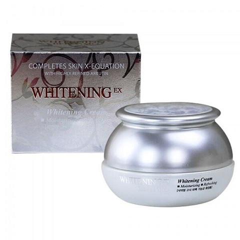 Bergamo Moselle Whitening EX Whitening Cream осветляющий крем для тусклой кожи