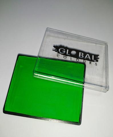 Аквагрим Global неоновый зеленый 50 гр