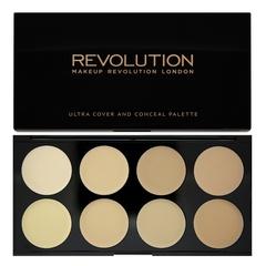 Палетка консилеров Makeup Revolution Cover and Conceal, Light