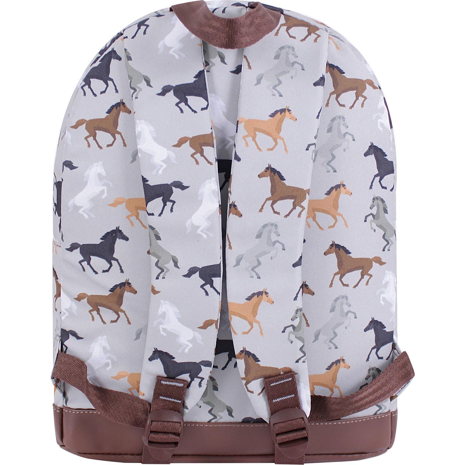 Рюкзак Bagland Молодежный 17 л. сублимация (лошади) (005336640) фото 3