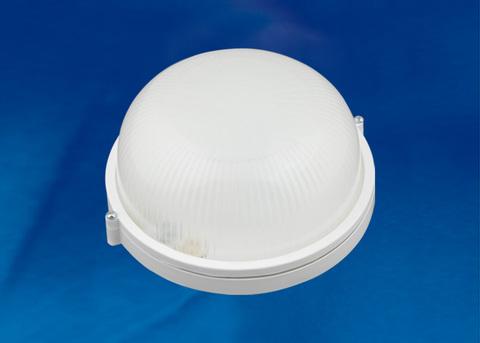 ULW-K21A 8W/6000K IP54 WHITE Светильник светодиодный влагозащищенный. Круг. Дневной белый свет (6000K). 600Лм. Диаметр 188мм. Корпус белый. ТМ Uniel.