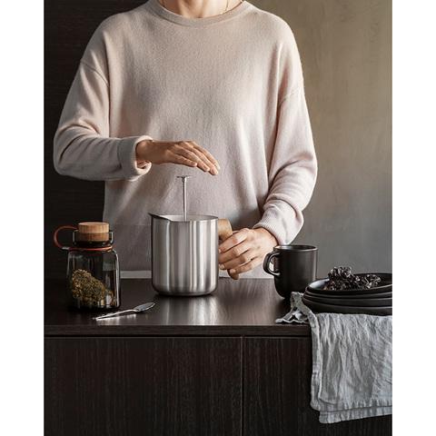 Eva Solo Заварочный чайник Nordic Kitchen 1 л, серебристый арт: 520432