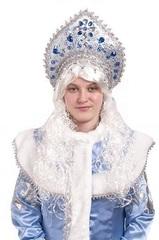 Парик Снегурочки