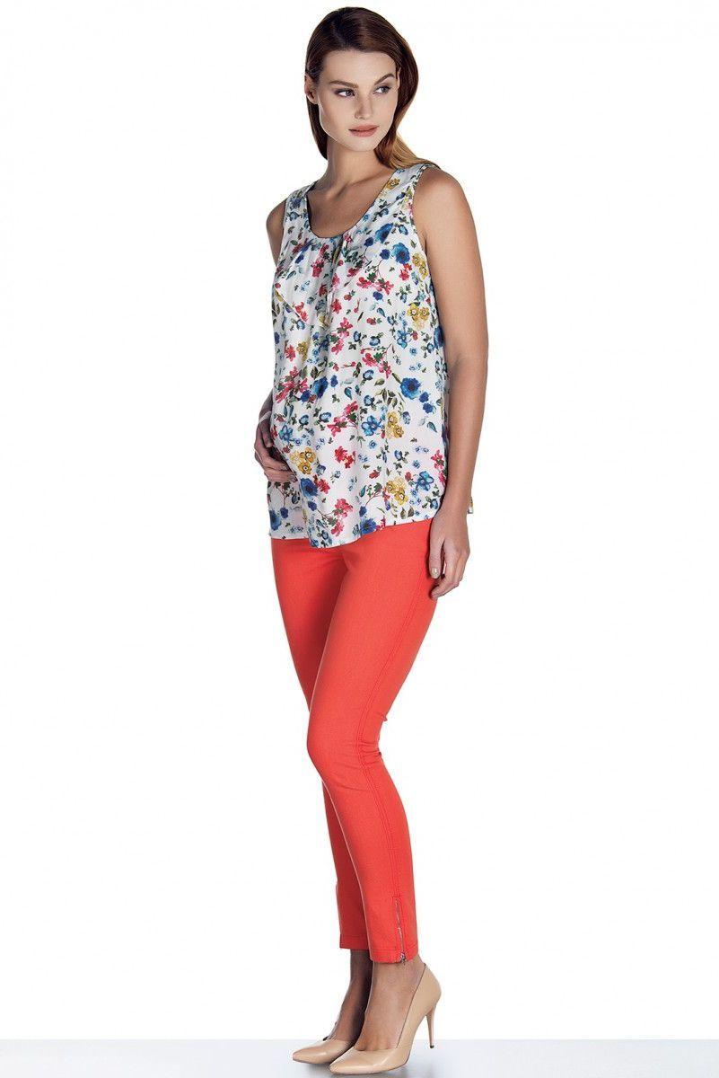 Блузка для беременных 08816 цветной