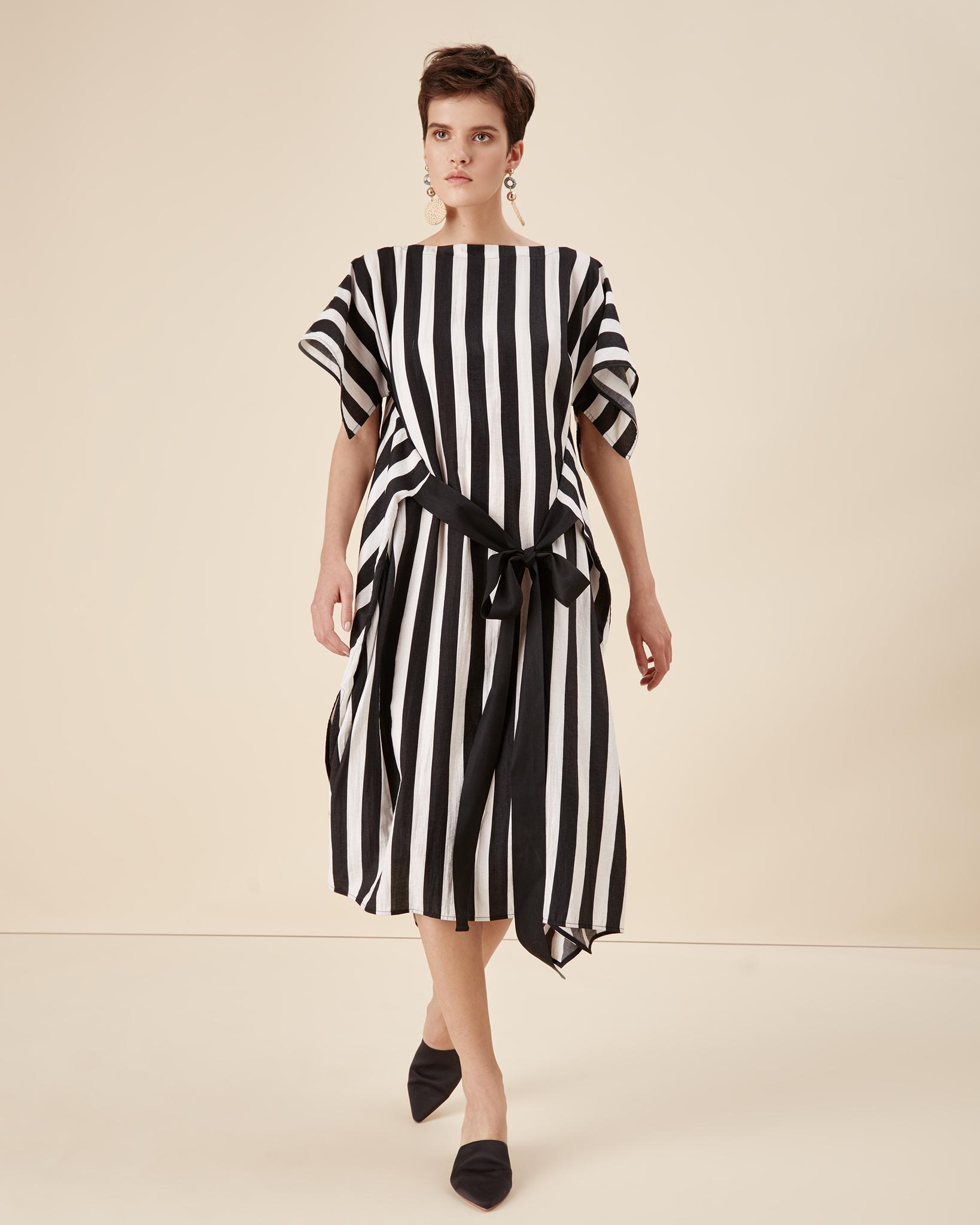 Платья Платье в черную полоску 19-170 hass-leto-194679.jpg