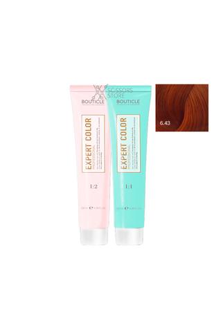 Expert Color Hair Color Cream 6/43 темно-русый медно-золотистый 100 мл