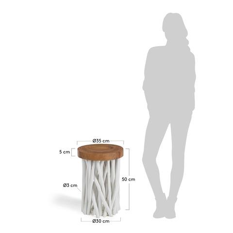 Столик Druf белый