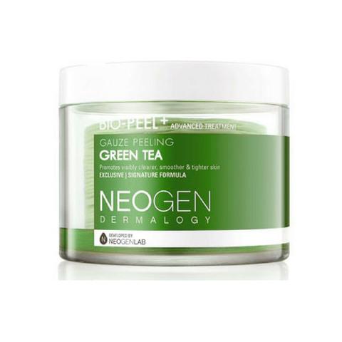 Успокаивающие пилинг-пэды с зеленым чаем 30 шт Neogen Dermatology Bio-Peel Gauze Peeling Green Tea