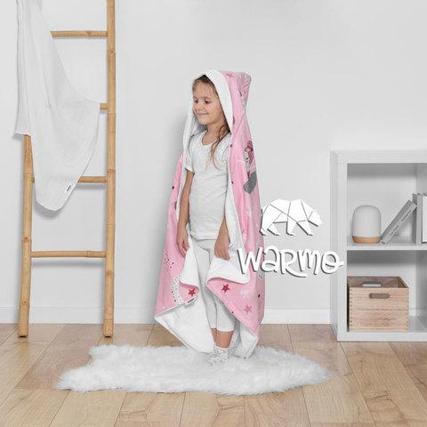 Рушник дитячий банний з капюшоном Warmo™ ПРИНЦЕСИ 100x100см