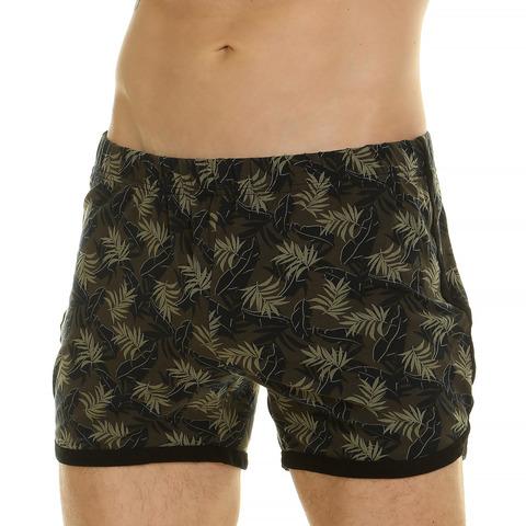 Мужские шорты домашние хаки Van Baam 44778