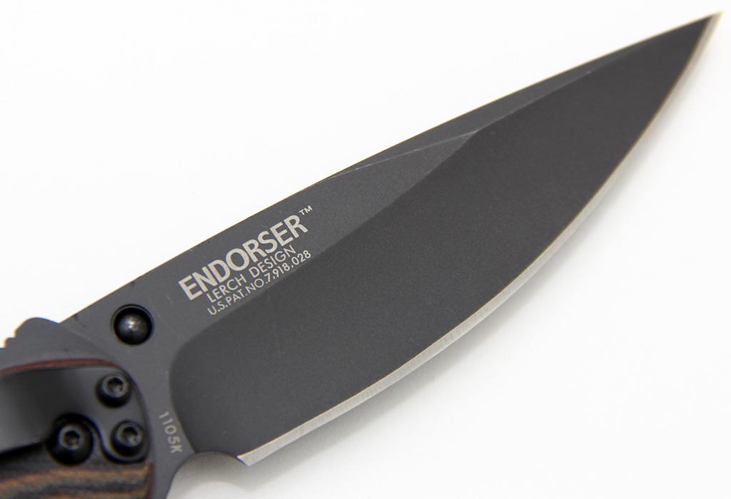 Нож полуавтоматический CRKT Endorser Black 1105K - фотография