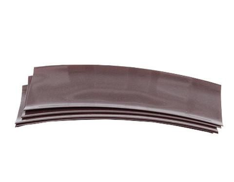 Термоусадка для аккумуляторов 18650 коричневый 4шт.
