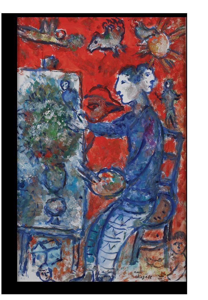 """Марк Шагал Репродукция """"Шагал - Двойственность художника"""" Х81.png"""