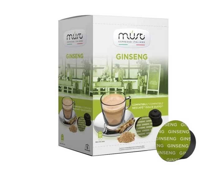 Кофе в капсулах Must Ginseng, 16 капсул для кофемашин Dolce Gusto