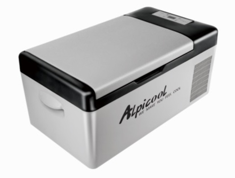Компрессорный автохолодильник Alpicool ACS-15 (12V/24V/220V, 15л)
