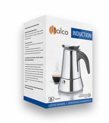 Гейзерная кофеварка ITALCO Induction 6 порций