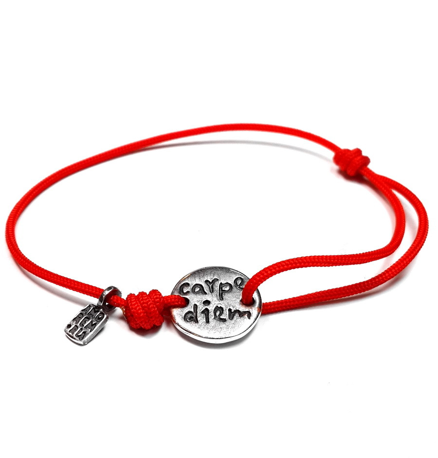 Carpe diem | Carpe diem bracelet | Carpe diem jewelry, sterling silver